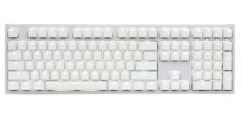 DUCKY One 2 Backlit White Edition_ Cherry MX Brown_ Nordic layout /PBT keycaps (DKON1808S-BFIPDWZW1)