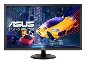 ASUS MON VP248QG 24i FHD 1920x1080 Gaming monitor 1ms up to 75Hz DP HDMI D-Sub FreeSyncLow Blue Light Flicker Free TUV Certified (90LM0480-B02170)