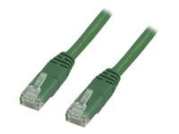 DELTACO UTP CAT.6 UNSHIELDED RJ45 2M GREEN (TP-62G)