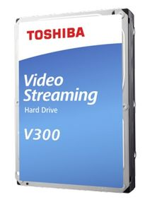 TOSHIBA BULK V300 Video Streaming Hard Drive 1TB SATA 3.5 (HDWU110UZSVA)