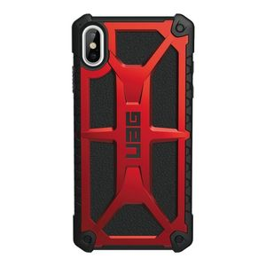 UAG iPhone Xs Max, Monarch Cover, Crimson (111101119494)