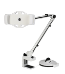 DELTACO 2 IN 1 SUCTION CUP WITH C-CLAMP White