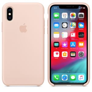 APPLE Iphone XS Silicone Case Pink Sand (MTF82ZM/A)