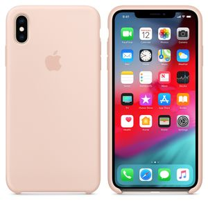 APPLE Iphone XS Max Sil Case Pink Sand (MTFD2ZM/A)