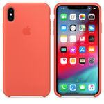 APPLE IPHONE XS MAX SILICONE CASE NECTARINE (MTFF2ZM/A)