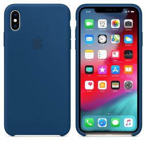 APPLE IPHONE XS MAX SILICONE CASE BLUE HORIZON (MTFE2ZM/A)