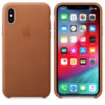 APPLE Skinndeksel XS, Lærbrun Deksel til iPhone XS (MRWP2ZM/A)