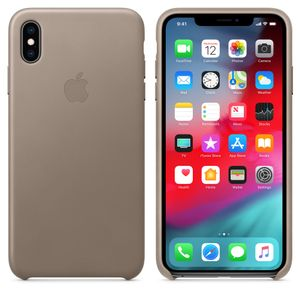 APPLE Iphone XS Max Le Case Taupe (MRWR2ZM/A)