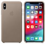 APPLE Skinndeksel XS Max, Taupe Deksel til iPhone XS Max (MRWR2ZM/A)