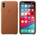 APPLE IPHONE XS MAX LEATHER CASE SADDLE BROWN (MRWV2ZM/A)