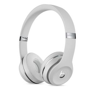 APPLE BEATS WRLS ON-EAR HEADPHONES SATIN SILVER SOLO3               IN CONS (MUH52ZM/A)