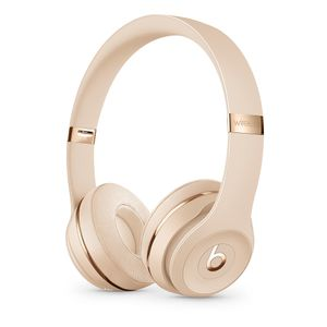 APPLE BEATS WRLS ON-EAR HEADPHONES SATIN GOLD SOLO 3                IN CONS (MUH42ZM/A)