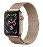 APPLE Watch Series 4 GPS + Cellular, 44mm Gold Stainless Steel Case with Gold Milanese Loop (MTX52DH/A)