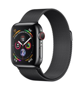 APPLE Watch S4 GPS+Cell 40mm SB SS Blk Mil (MTVM2DH/A)