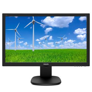 "PHILIPS 23,6"", 1920x1080,  TN, 2 ms GtG, HAS, DP/ HDMI/ DVI/ VGA,  USB HUB, Speakers, VESA (243S5LJMB/23)"