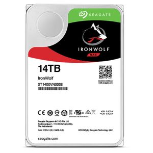 SEAGATE Ironwolf PRO Enterprise NAS HDD 12TB 7200rpm 6Gb/s SATA 256MB cache 8.9cm 3.5inch 24x7 for NAS & RAID Rackmount Systeme BLK (ST12000NE0008)
