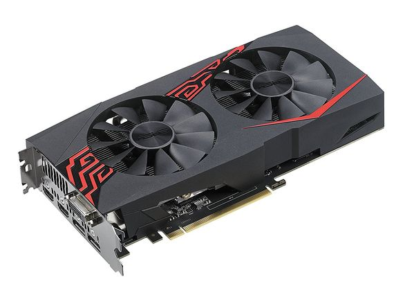 ASUS GeForce GTX 1060 6GB Expedition OC Skjermkort,  PCI-Express 3.0, GDDR5, 1569/ 1785MHz,  Pascal (EX-GTX1060-O6G)