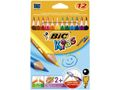 BIC BIC Kids Evolution triangel 12 färger