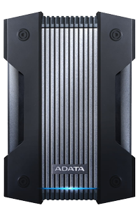 A-DATA 4TB External hard drive, military grade, USB 3.1, three-layer prot (AHD830-4TU31-CBK)