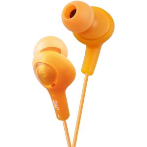 JVC New Gumy In Ear include extra ear plugs Orange - qty 1 (HA-FX5-D-EX)