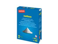 STAPLES Kopipapir STAPLES Multiuse A3 80g 500/pk (7216204)