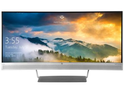 HP EliteDisplay S340c Monitor (V4G46AA#ABB)