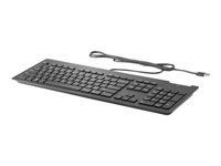 HP USB Business Slim Smartcard Keyboard (Z9H48AA#ABX         )