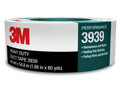 3M Vävtejp 3MT silver 55mx50mm (3939)