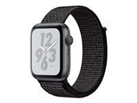 APPLE WATCH NIKE+ SERIESA4 GPS 44MM SPACE GREY ALUM BLK NIKE SPT L   IN CONS (MU7J2KS/A)