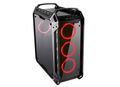 COUGAR Case Panzer EVO Full tower Tempered glass cover 4pcs of 120mm LED fans