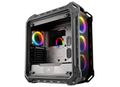 COUGAR Case Panzer EVO RGB Full tower Metallic-like military inspiration design 4 RGB fansremote control