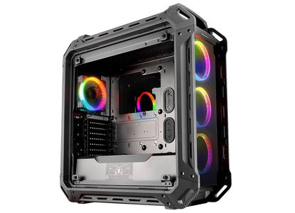 COUGAR Case Panzer EVO RGB Full tower Metallic-like military inspiration design 4 RGB fansremote control (106AMT0003-00)