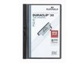 DURABLE Klemmappe DURACLIP A4 30 ark sort