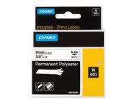 DYMO RP Permanent 9mm White (S0718240)