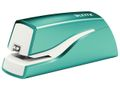 LEITZ WOW stapler battery-powered 10 sheets iceblue