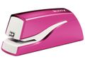 LEITZ WOW stapler battery-powered 10 sheets pink