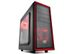 DEEPCOOL TESSERACT SW-RD- ATX/ mATX/ Mini ITX Case - Red LED
