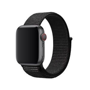 APPLE Watch 40mm Sport Loop Sort Sport Loop - 40mm passer til håndledd på 130-190mm (MTLT2ZM/A)