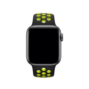 APPLE Watch Nike Sport Band 40mm Sort/Volt Nike Sport Band S/M&M/L 40mm (MTMN2ZM/A)