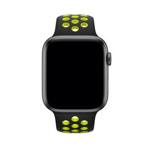 APPLE Watch Nike Sport Band 44mm Sort/Volt Nike Sport Band S/M&M/L 44mm (MTMW2ZM/A)