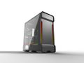 PHANTEKS Enthoo Evolv X Glass, Mid Tower Gray Vifter: 2x 140mm front, 1x 140mm bak, EATX, ATX, mATX, mITX, USB 3.1 Type-C