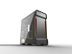 PHANTEKS Enthoo Evolv X Glass, Mid Tower Gray Fläkter: 2x 140mm front, 1x 140mm bak, EATX, ATX, mATX, mITX, USB 3.1 Type-C