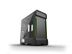 PHANTEKS Enthoo Evolv X Glass, Mid Tower Black Fläkter: 2x 140mm front, 1x 140mm bak, EATX, ATX, mATX, mITX, USB 3.1 Type-C