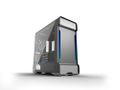 PHANTEKS Enthoo Evolv X Glass, Mid Tower Silver Vifter: 2x 140mm front, 1x 140mm bak, EATX, ATX, mATX, mITX, USB 3.1 Type-C