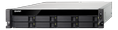 QNAP TS-877XU-RP-1200-4G 2U 8BAY RPS 3.1 GHZ 6C 4GB 2XGBE 2XUSB3.1    IN EXT