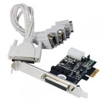 LONGSHINE Controller PCIe 4x Seriell F-FEEDS (LCS-6324P)
