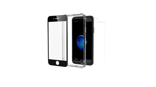 promo code 2a2a2 62aae ZAGG / INVISIBLESHIELD - ZAGG InviisbleShield-iPhone X - Glass+ Contour 360  -Full Body with Bumper Case - Black -IPhone7