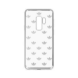 ADIDAS Clear Case S9+, Silver Logo Cover For Samsung Galaxy S9+ (30226)