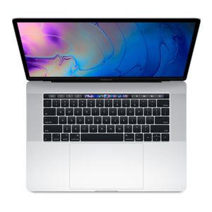 "APPLE MacBook Pro 15"" Retina m/Touch Bar Silver, 6-core i7 2.6GHz, 16GB RAM, 512GB SSD, Radeon Pro 560X 4GB, 4 x TB3 ports (2018) NB! 1Y Warranty (MR972H/A)"