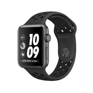 APPLE Watch Nike+S3 GPS 42mm SG Alu Ant/Blk (MTF42DH/A)